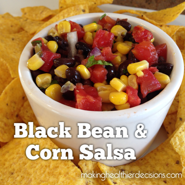 Black Bean & Corn Salsa | makinghealthierdecisions